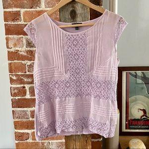 Lilac Lace Blouse